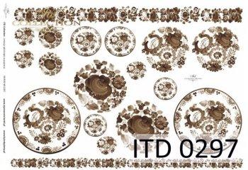 бумага для декупажа классическая D0297