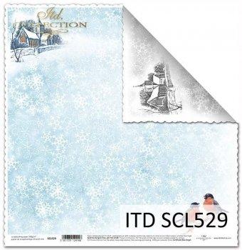 Бумага для скрапбукинга SCL529