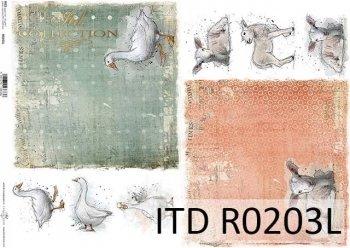 рисовая бумага для декупажа R0203L