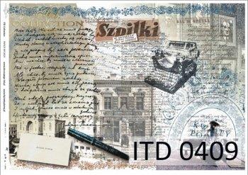 бумага для декупажа классическая D0409M
