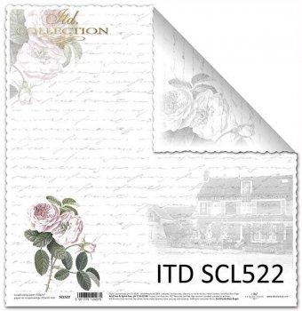 Бумага для скрапбукинга SCL522