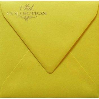 Конверт KP02.15 155x155 желтый