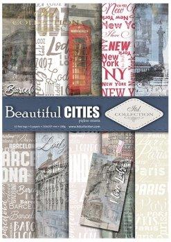 Скрапбукинг бумаги SCRAP-044 ''Beautiful Cities''