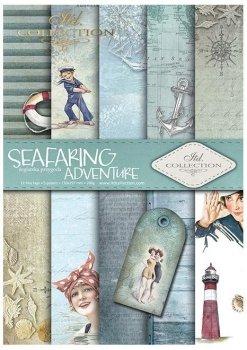 Скрапбукинг бумаги SCRAP-047 ''Seafaring adventure''