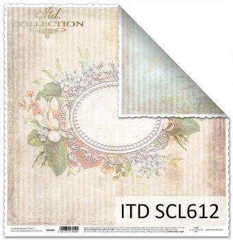 Бумага для скрапбукинга SCL612