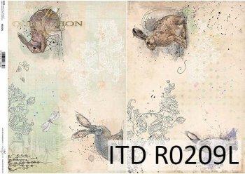 рисовая бумага для декупажа R0209L