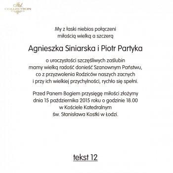 .text pro svatební oznámení - TS12