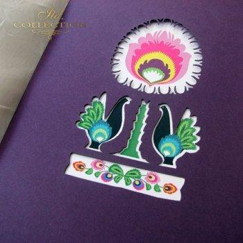Пасхальная открытка с конвертом KW128