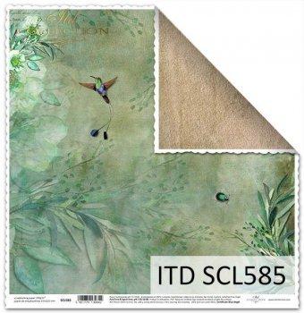 Бумага для скрапбукинга SCL585
