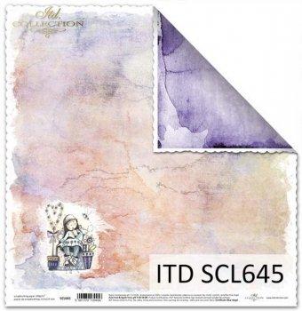 Бумага для скрапбукинга SCL645