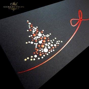 Рождественская и Новогодняя открытка K514