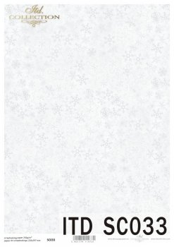 бумага для скрапбукинга SC0033