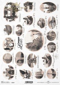 рисовая бумага для декупажа R1647