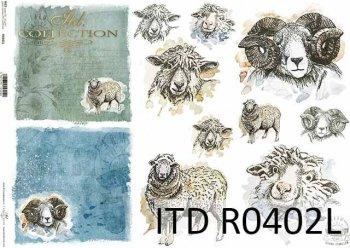 рисовая бумага для декупажа R0402L