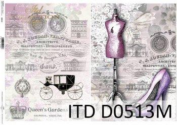 бумага для декупажа классическая D0513M