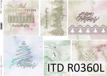 рисовая бумага для декупажа R0360L