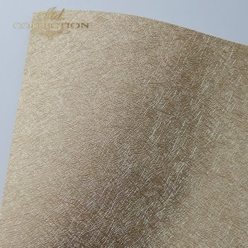 бумага для скрапбукинга PSS038 - структурная бумага - старое золото A4