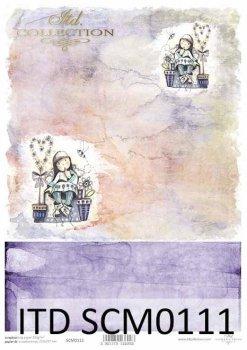 Скрапбукинг бумаги SCM0111