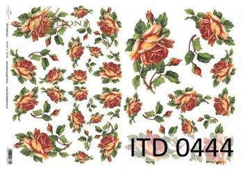 бумага для декупажа классическая D0444M