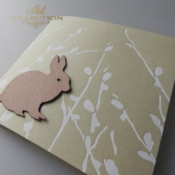 Пасхальная открытка с конвертом KW236