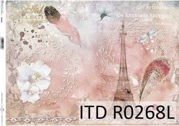 рисовая бумага для декупажа R0268L