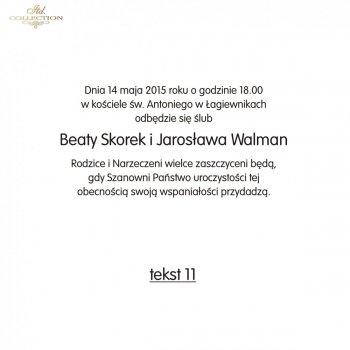 .text pro svatební oznámení - TS11