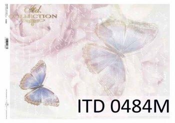 бумага для декупажа классическая D0484M