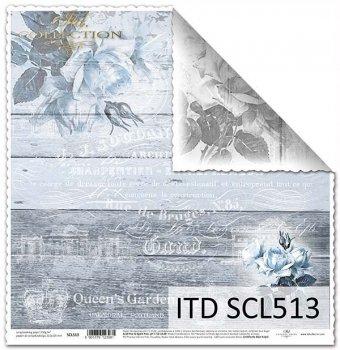Бумага для скрапбукинга SCL513