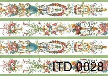 бумага для декупажа классическая D0028