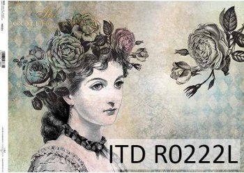 рисовая бумага для декупажа R0222L