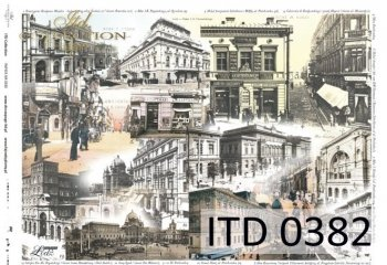 бумага для декупажа классическая D0382