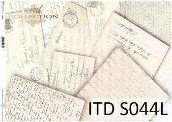 бумага для декупажа SOFT S0044L