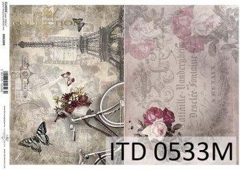 бумага для декупажа классическая D0533M