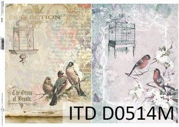 бумага для декупажа классическая D0514M