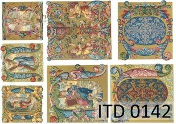 Papier decoupage ITD D0142M
