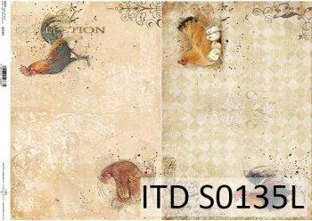 бумага для декупажа SOFT S0135L