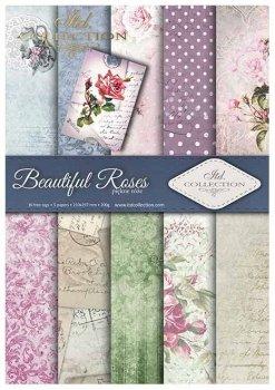 Скрапбукинг бумаги SCRAP-008 ''Красивые розы