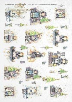 рисовая бумага для декупажа R0241