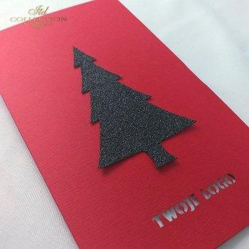 Рождественская и Новогодняя открытка K642