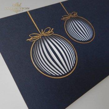 Рождественская и Новогодняя открытка K600