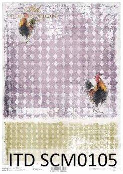 Скрапбукинг бумаги SCM0105