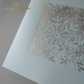 Рождественская и Новогодняя открытка K584