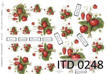 Papier decoupage ITD D0248M