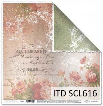 Бумага для скрапбукинга SCL616