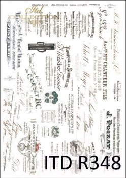 рисовая бумага для декупажа R0348