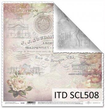 Бумага для скрапбукинга SCL508