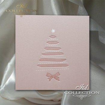 Рождественская и Новогодняя открытка K613