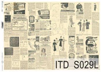 бумага для декупажа SOFT S0029L