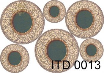 Papier decoupage ITD D0013M