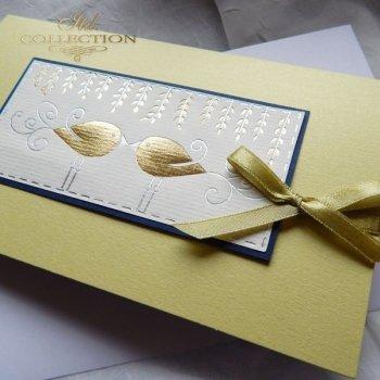 Пасхальная открытка с конвертом KW186